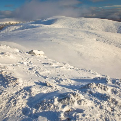 Driesh and Mayar – a fine wintry mini-expedition in the Cairngorms National Park