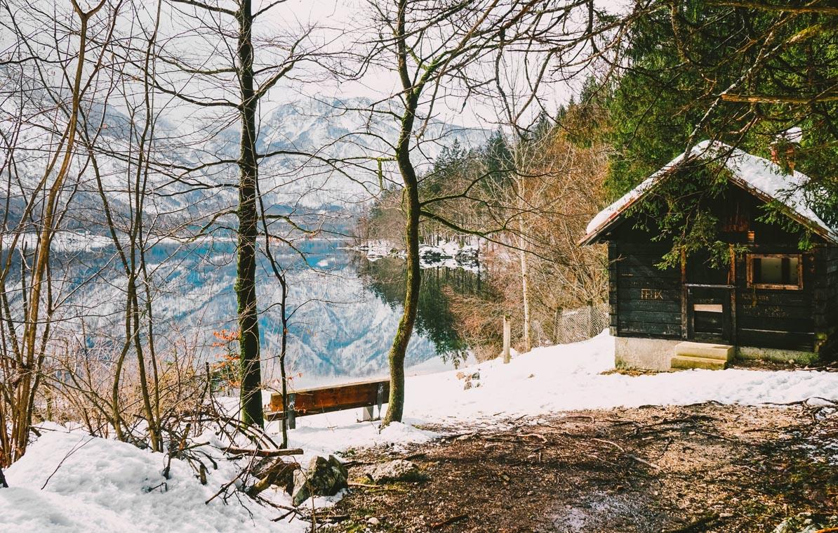 At Lake Bohinij, Slovenia