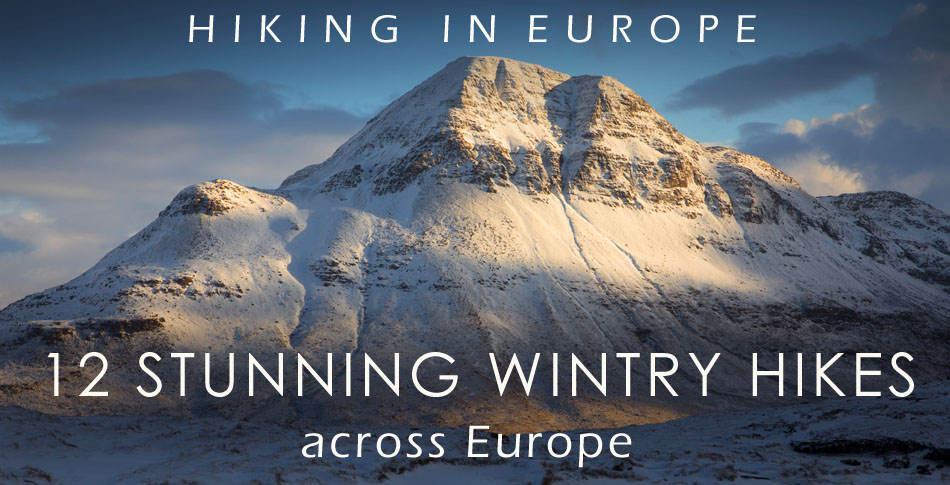 winter hikes europe