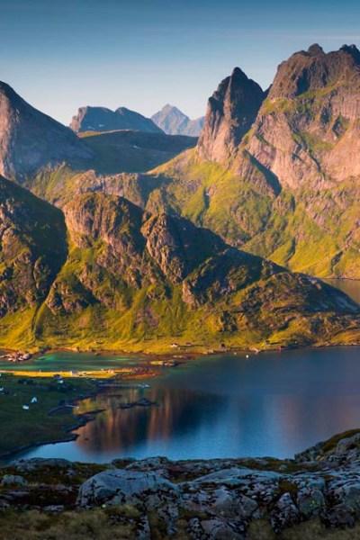 Lofotodden national park norway