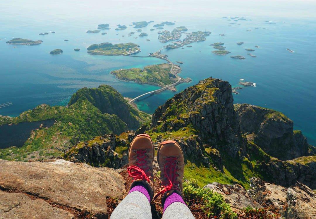 best hikes in lofoten
