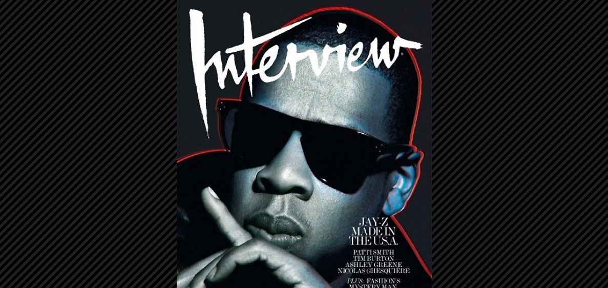 Schott Bros On Front Cover Of Interview With Jay Z This Month!