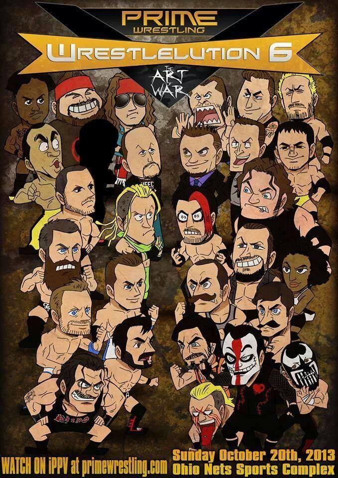 Wrestleution 6 Poster