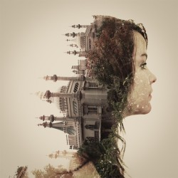 From an article 11 Mind Numbing Double Exposure Pictures on Bitrebels.com