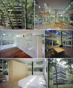Ring House by Makoto Takei and Chie Nabeshima from betterlivingthroughdesign.com