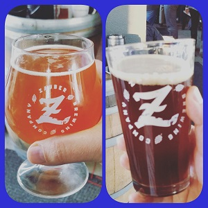 Zauber Brewing Shoulder Devil (L) and Bruzer (R) - Kevin DiFrango
