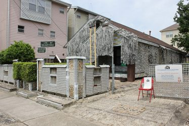 Beer Can House in Houston TX. Saved from Inhabitat.com. Artcile by Lori Zimmer.