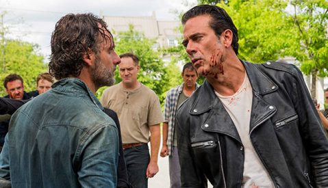 Rick, who are these people behind me? Are they even in the cast? All rights to AMC/Gene Page.