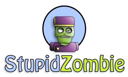 Blockhead, StupidZombie official mascot