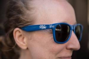 Rocking my free sunglasses at last week's long run.