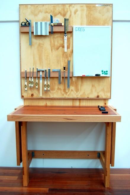 wall mounted folding workbench plans  sassy30xbm
