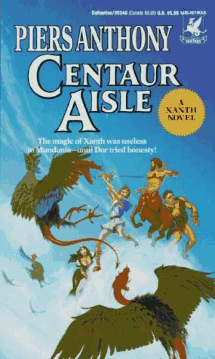 Xanth series by Piers Anthony  Stu Station