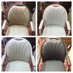 Caster Dining Chairs Desk Chair Covers Casual Swivel Tilt With Upholstered Arms
