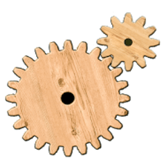 Gear Logic Puzzle Icon