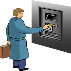 A Possible ATM Fraud