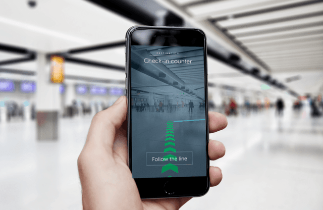 Gatwick's AR Passenger App