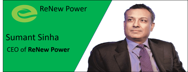 ReNew Power and Sumant Sinha