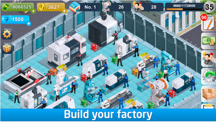 Industrialist factory building strategy