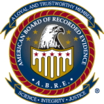 Logo for American Board of Recorded Evidence (ABRE)