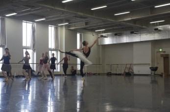 Swan Lake rehearsal in the studio (Anna Osadcenko and Ensemble)