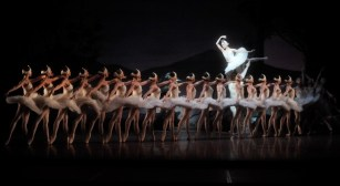 Swan Lake: Alicia Amatriain (Odile), Friedemann Vogel (Prince Siegfried), Ensemble