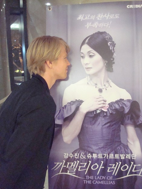 Marijn Rademaker and his Lady of the Camellias