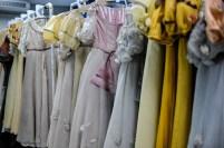 The wardrobe staff has lovingly prepared the costumes