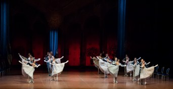 The corps de ballet in the 3rd act ball