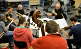 Only a small group of musicians is needed for The Soldier's Tale