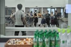 Rehearsal of Onegin in the studios of the Korean National Ballet.