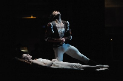 Romeo takes his life for love of Juliet