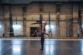 Alicia Amatriain and Friedemann Vogel rehearsing Legende for the Gala performance.