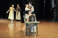Hyo-Jung Kang as Tatiana und Roman Novitzky als Onegin in our second performance of Onegin in Tokyo