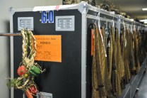 The costume department has everything prepared
