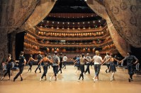 Stage rehearsal in the Hyogo Performing Arts Center