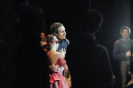 Onegin, 3rd act: Elisa Badenes as Tatiana and Roman Novitzky as Prince Gremin
