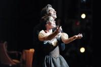 The final pas de deux of Onegin: Elisa Badenes and Friedemann Vogel
