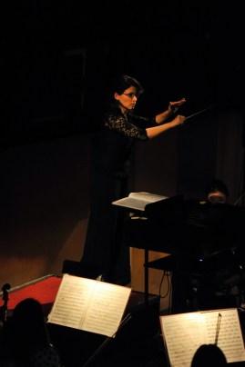 Alina Godunov conducting the Shanghai Philharmonic Orchestra