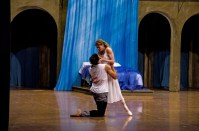 This is what Weimar has been looking forward to: Alicia Amatriain as Juliet, Jason Reilly as Romeo