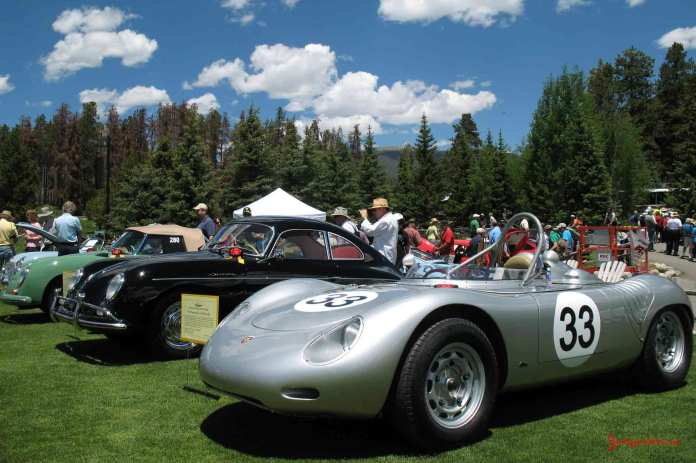 Porsche Clubs: 718 RSK Spyder Colorado Parade 09. Credit: StuttgartDNA