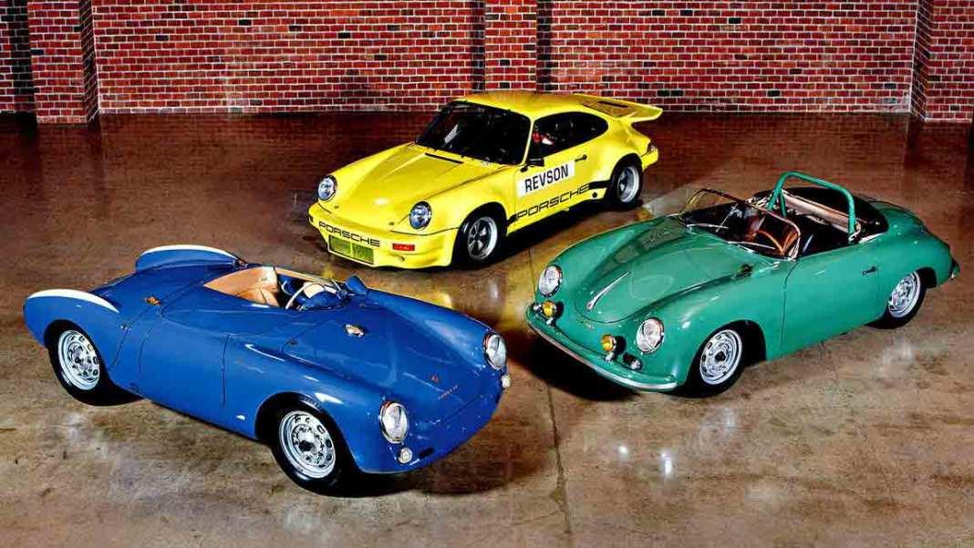 Seinfeld Porsches Headline 2016 Amelia Island Auction: 3 Seinfeld Porsches going to 03-11-16 auction. Credit: Mathieu Heurtault / Gooding & Company