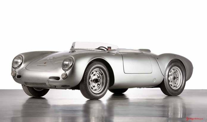 How to choose the best car insurance - Porsche supercars: 550 Spyder, 1953, left front. Credit: Porsche AG