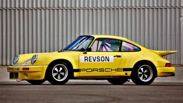 Seinfeld Porsches Headline 2016 Amelia Island Auction: Seinfeld's 1974 Porsche 911 Carrera 3.0 IROC RSR. Credit: Mathieu Heurtault / Gooding & Company
