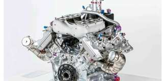 Porsche 919 Hybrid 4-cylinder engine: 919 turbo engine. Credit: Porsche AG