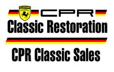 2017 Porsche L.A. Literature, Toy and Memorabilia Meet Weekend: California Porsche Restoration logo. Credit: California Porsche Restoration