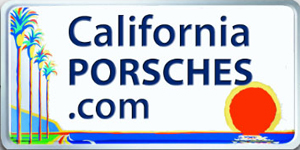 2017 Porsche L.A. Literature, Toy and Memorabilia Meet Weekend: California Porsches logo. Credit: California Porsches