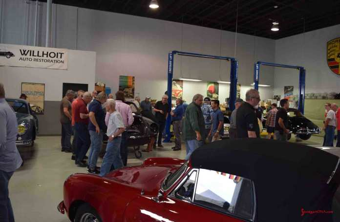 2017 Porsche L.A. Literature, Toy and Memorabilia Meet Weekend: Seen here is the main shop of Wilhoit Auto Restoration in Long Beach, California. Credit: StuttgartDNA