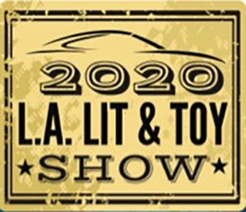 Annual L.A. Lit Show: Annual L.A. Lit Show: Seen here is the 2020 L.A. Lit and Toy Show logo. Credit: L.A. Lit and Toy Show