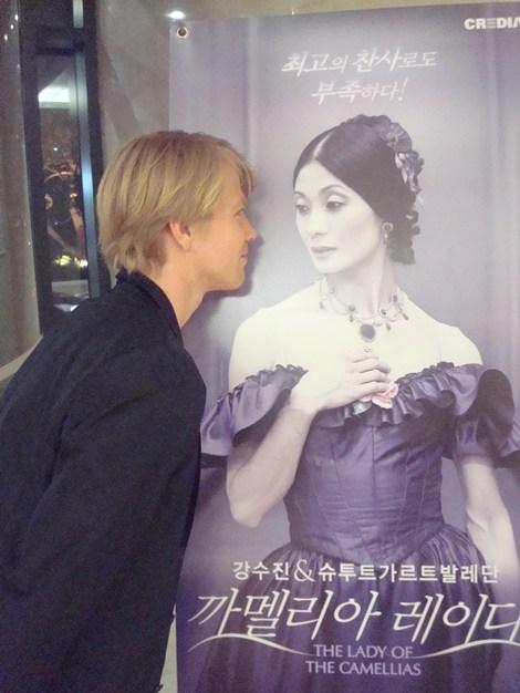 Korea-Gastspiel: DIE KAMELIENDAME - Marijn Rademaker und seine Kameliendame