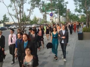 Korea-Gastspiel: DIE KAMELIENDAME - unterwegs